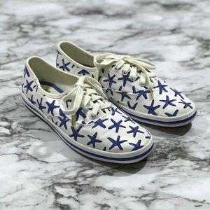 Keds Shoes - Keds Kate Spade White Starfish Shoes